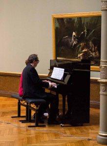 Susann Krieger und Lynn Tabbert spielen Musik aus der Zeit von Carl Malchin © Frank Koebsch (2)