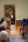 Tobias Woitendorf bei der Eröffnung der Ausstellung - Von Barbizon bis ans Meer. Carl Malchin und die Entdeckung Mecklenburgs © Frank Koebsch (1)