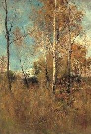 Arthur Langhammer, Frühherbstliche Landschaft, Gemäldegalerie Dachau
