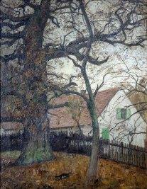 Carl Goebel, Die tausendjährige Eiche, Museum Malerkolonie Ferch