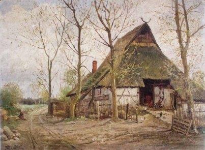 Carl Malchin – Frühling in Ruthenbeck bei Crivitz © Staatliche Schlösser, Gärten und Kunstsammlungen Mecklenburg-Vorpommern