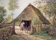 Carl Malchin – Katen in Mueß, 1871 © Staatliche Schlösser, Gärten und Kunstsammlungen Mecklenburg-Vorpommern