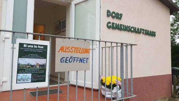 Die Ausstellung von Hanka & Frank Koebsch zur Eröffnung des See- und Oarkfeste 2019 in Groß Lüsewitz (c) bFrank Koebsch