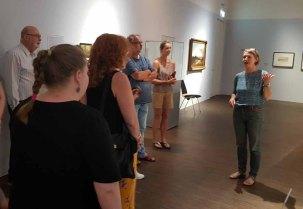 Führung in der Ausstellung zu Cal Malchin im Staatlichen MUseum Schwerin (c) Frank Koebsch (1)
