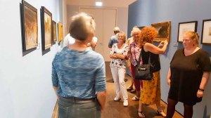 Führung in der Ausstellung zu Cal Malchin im Staatlichen MUseum Schwerin (c) Frank Koebsch (2)