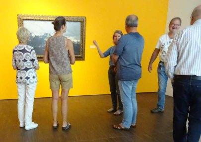 Führung in der Ausstellung zu Cal Malchin im Staatlichen MUseum Schwerin (c) Susanne Haun (1)