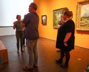 Führung in der Ausstellung zu Cal Malchin im Staatlichen MUseum Schwerin (c) Susanne Haun (2)