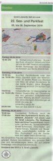 Groß Lüsewitz lädt ein zum 22. See- und Parkfest - Sanitzer Mitteilung 2019 08 03