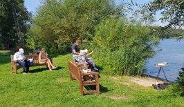 Skizzieren am Schweriner See in Mueß (c) Frank Koebsch (1)
