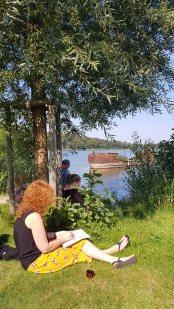 Skizzieren am Schweriner See in Mueß (c) Frank Koebsch (2)