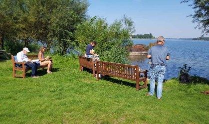 Skizzieren am Schweriner See in Mueß (c) Frank Koebsch (3)