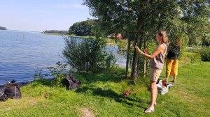 Skizzieren am Schweriner See in Mueß (c) Frank Koebsch (6)