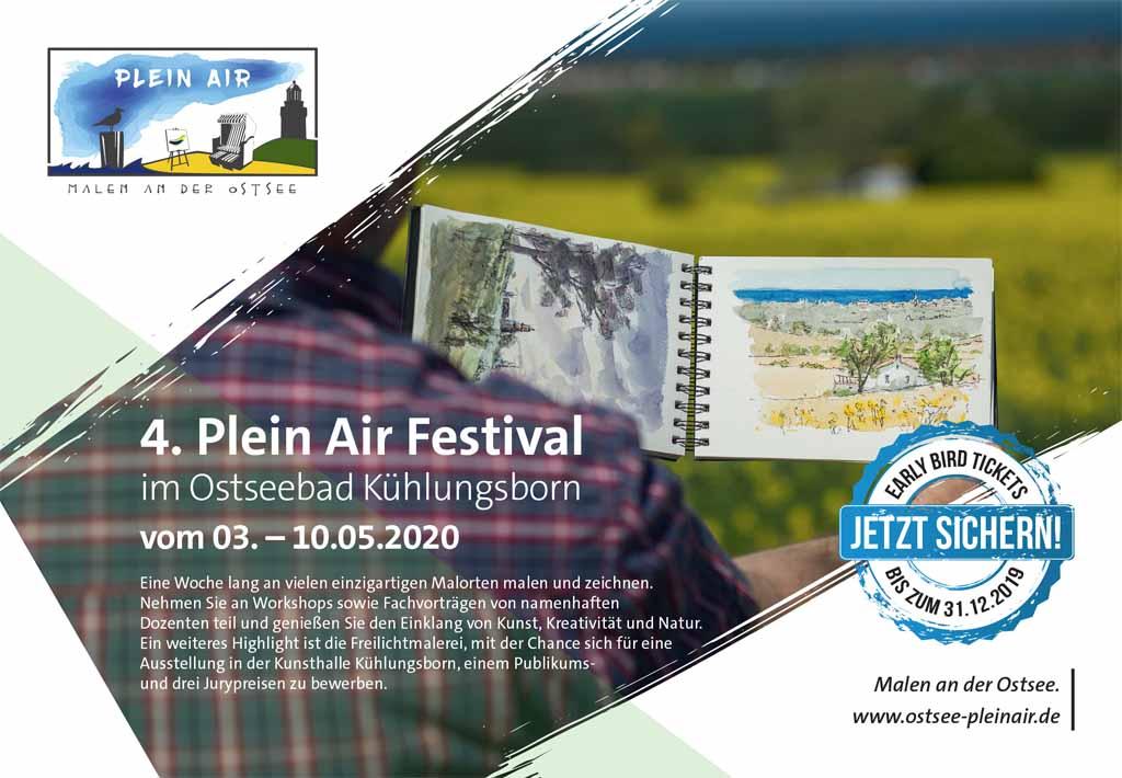 Buchungsstart Plain Air Festval im Ostseebad Kühlungsborn
