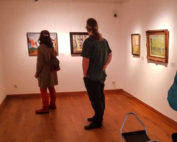 Besuch der Ausstellung - Mein Freud der Baum - im Kunstmuseum Schwaan (c) Frank Koebsch(2)
