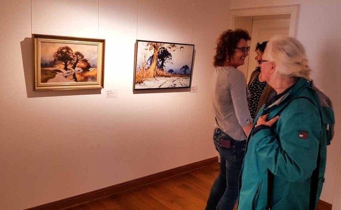 Besuch der Ausstellung - Mein Freud der Baum - im Kunstmuseum Schwaan (c) Frank Koebsch(3)
