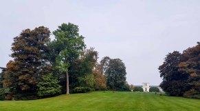 Blick auf die Orangerie im Schloßpark (c) Frank Koebsch