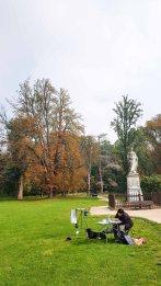Malreise Rügen - Malen im Schloßpark Putbus (c) FRank Koebsch (6)