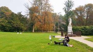 Malreise Rügen - Malen im Schloßpark Putbus (c) FRank Koebsch (7)