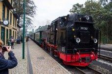 Rasender Roland auf dem Bahnhof in Göhren (c) Frank Koebsch