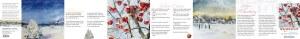 Weiße Weihnacht - Leporello mit Texten von Rainer Maria Rilke und Aquarellen von Hanka & Frank Koebsch - Ansicht 1