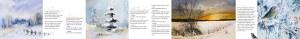 Weiße Weihnacht - Leporello mit Texten von Rainer Maria Rilke und Aquarellen von Hanka & Frank Koebsch - Ansicht 2