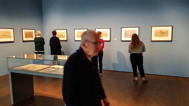 Erkundungen im Staatlichen Museum Schwerin - AQUARELLKURS WANN WIRD ES WIEDER EINMAL RICHTIG WINTER ENTDECKUNGEN IN DEN BILDERN VON CARL MALCHIN © Frank Koebsch (5)