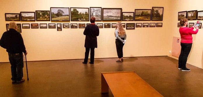 Erkundungen im Staatlichen Museum Schwerin - AQUARELLKURS WANN WIRD ES WIEDER EINMAL RICHTIG WINTER ENTDECKUNGEN IN DEN BILDERN VON CARL MALCHIN © Frank Koebsch (2)