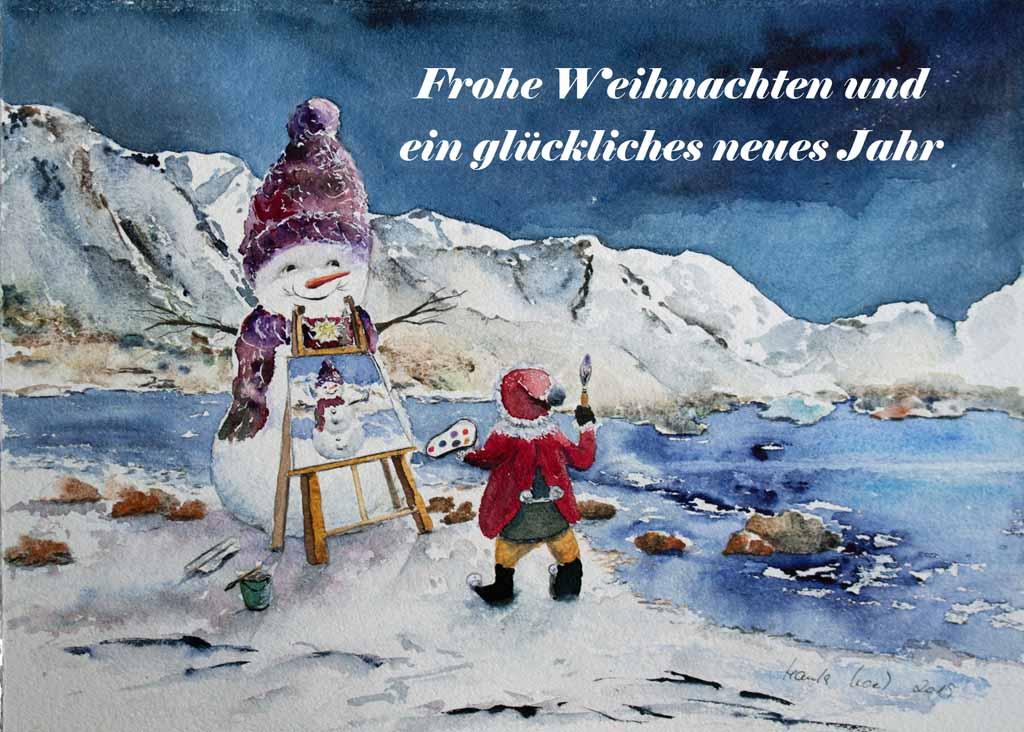 Frohe Weihacnhten und ein gelückliches neues Jahr (c) Hanka u Frank Koebsch