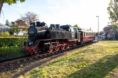 Molli auf dem Bahnhof in Kühlungsborn West (c) Frank Koebsch