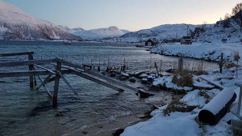 Winter in Sandneshamn - auf dem Weg von Tromsø nach Sommarøy (c) FRank Koebsch (15)