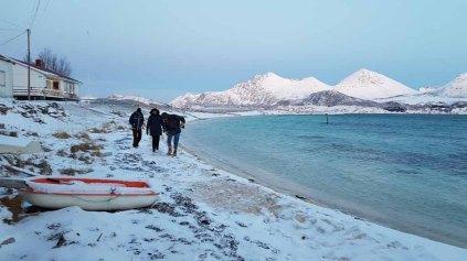 Winter in Sandneshamn - auf dem Weg von Tromsø nach Sommarøy (c) FRank Koebsch (17)