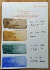 Granulierende Aquarellfarben von Schmincke auf Aquarellpapier Leonardo – satiniert von Hahnemühle © Frank Koebsch (1)