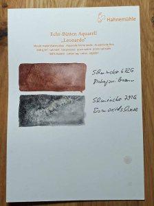 Granulierende Aquarellfarben von Schmincke auf Aquarellpapier Leonardo – satiniert von Hahnemühle © Frank Koebsch (2)