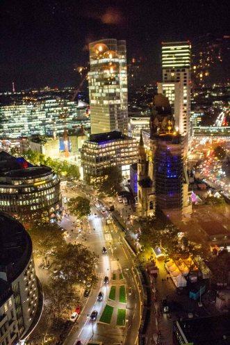 Abends in Berlin - Blick vom Europa Center (c) Frank Koebsch (3)