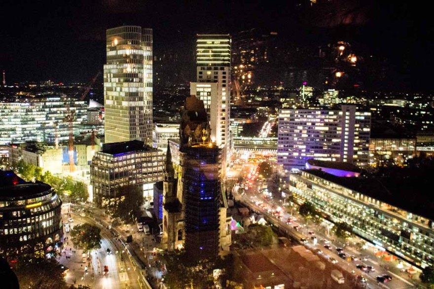 Abends in Berlin - Blick vom Europa Center (c) Frank Koebsch (4)