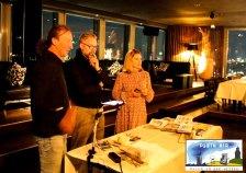 Jens Hübner, Nicola Schneider - Wilde & Partner und Ulrich Langer – TFK GmbH Kühlungsborn in der Puro Sky Lounge im Europa-Center Berlin © Frank Koebsch (1)