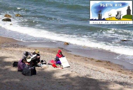 Plein Air Festival Kühlungsborn - Acrylmalerei am Strand von Heiligendamm mit Hinrich JW Schüler © Frank Koebsch (2)