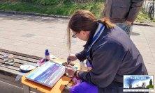 Plein Air Festival Kühlungsborn - Acrylmalerei an der Ostsee mit Hinrich JW Schüler © Frank Koebsch (4) L