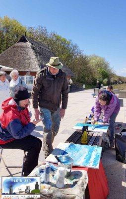 Plein Air Festival Kühlungsborn - Acrylmalerei an der Ostsee mit Hinrich JW Schüler © Frank Koebsch (5) L