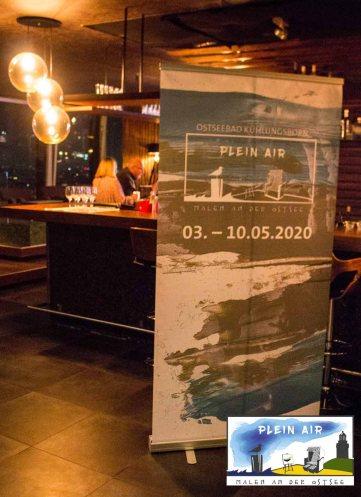 Präsentation zum Plein Air Festival – Malen an der Ostsee in der Puro Sky Lounge im Europa-Center Berlin © Frank Koebsch (2)