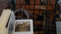 Wassermühle und Kirche zu Mühlen Eichsen von Carl Malchin aus dem Jahr 1872 vor der Schleifmühle Schwerin (1)