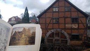 Wassermühle und Kirche zu Mühlen Eichsen von Carl Malchin aus dem Jahr 1872 vor der Schleifmühle Schwerin (2)