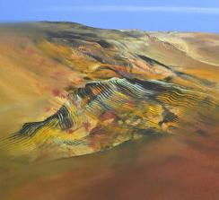 """y Hinrich JW Schüler """"Abstrakte Landschaft"""
