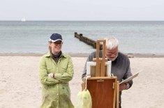Ölmaler beim Plein Air Festival - Malen an der Ostsee am Strand von Kühlungsborn (c) FRank Koebsch (12)