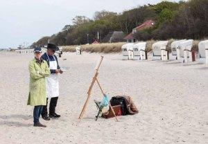 Ölmaler beim Plein Air Festival - Malen an der Ostsee am Strand von Kühlungsborn (c) FRank Koebsch (13)