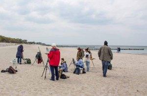 Ölmaler beim Plein Air Festival - Malen an der Ostsee am Strand von Kühlungsborn (c) FRank Koebsch (4)