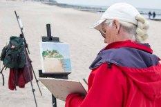 Ölmaler beim Plein Air Festival - Malen an der Ostsee am Strand von Kühlungsborn (c) FRank Koebsch (9)