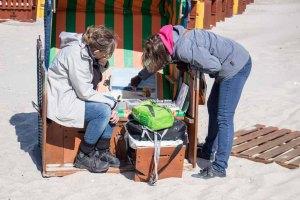 Plein Air Festival – Malen an der Ostsee – Pastellmaler am Strand von Kühlungsborn © Frank Koebsch (10)