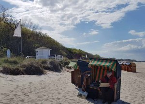 Plein Air Festival – Malen an der Ostsee – Pastellmaler am Strand von Kühlungsborn © Frank Koebsch (3)