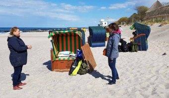 Plein Air Festival – Malen an der Ostsee – Pastellmaler am Strand von Kühlungsborn © Frank Koebsch (5)